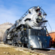 Stem locomotive in Colorado Railroad Museum, USA — Stock Photo #11288530