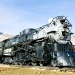 łodyga lokomotywa w Muzeum kolei colorado, Stany Zjednoczone Ameryki — Zdjęcie stockowe