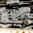 Detail of steam locomotive, Colorado Railroad Museum, USA — Stock Photo #11288543