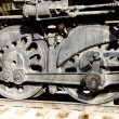 Detail of steam locomotive, Colorado Railroad Museum, USA — Stock Photo