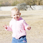 Portrait of little girl — Stock Photo #11289131