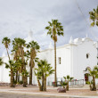 Immaculate Conception Church, Ajo, Arizona, USA - Stock Photo