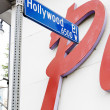 Hollywood Boulevard, Los Angeles, California, USA — Stock Photo