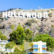 Hollywood Sign, Los Angeles, California, USA — Stock fotografie