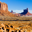Sentinel Mesa, Monument Valley National Park, Utah-Arizona, USA — Stock Photo #11289537