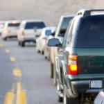 trafik sıkışıklığı, arizona, ABD — Stok fotoğraf