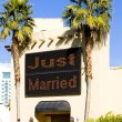 Stock Photo: Wedding chapel, Las Vegas, Nevada, USA