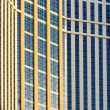 Detail of Palazzo casino, Las Vegas, Nevada, USA - Stock Photo