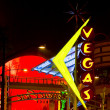 Fremont Street, Las Vegas, Nevada, USA - Stock Photo