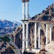 Bridge over Hoover Dam, Arizona-Nevada, USA — Stock Photo