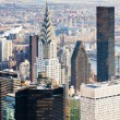 View of Manhattan from The Empire State Building, New York City, — Stock Photo