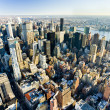 View of Manhattan from The Empire State Building, New York City, — Stock Photo #11289724