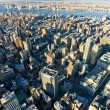 View of Manhattan from The Empire State Building, New York City, - Foto Stock