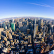 View of Manhattan from The Empire State Building, New York City, — Stock fotografie #11289740