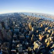 Foto Stock: View of Manhattan from The Empire State Building, New York City,