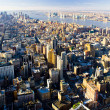 View of Manhattan from The Empire State Building, New York City, — Stock Photo #11289767