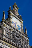 Town hall's detail, Alkmaar, Netherlands — Stock Photo