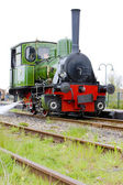 Steam locomotive, Hoorn - Medemblik, Noord Holland, Netherlands — Stock Photo