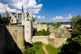 Chateau de Montreuil-Bellay, Pays-de-la-Loire, France — Stock Photo