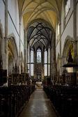 Iç kilisesi, st. egidius, bardejov, slovakya — Stok fotoğraf