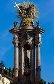 Barok sütun saint trinity, banska stiavnica, slovakya — Stok fotoğraf