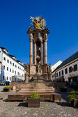 Saint trinity, saint trinity meydanı, banska st barok sütun — Stok fotoğraf