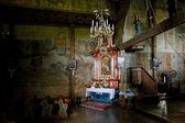 Iç ahşap kilise, blizne, polonya — Stok fotoğraf