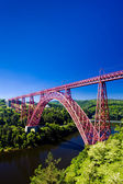 Garabit Viaduct, Cantal Département, Auvergne, France — Stock Photo