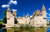 Chateau de la Clayette, Burgundy, France — Stock Photo