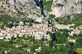 Moustiers Sainte Marie, Alpes-de-Haute-Provence Departement, Fra — Stock Photo