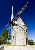 Windmill, Montfuron, Provence, France — Stock Photo