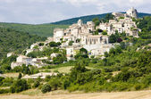 Simiane-la-Rotonde, Provence, France — Stock Photo