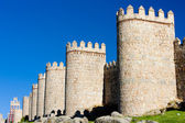 Fortification of Avila, Castile and Leon, Spain — Stock Photo