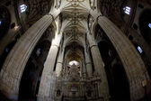 Interieur van de kathedraal in salamanca, castilië en león, spanje — Stockfoto