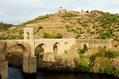 Roman bridge, Alcantara, Caceres Province, Extremadura, Spain — Stock Photo