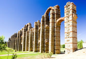 Aqueduct of Los Milagros, Merida, Badajoz Province, Extremadura, — Stock Photo