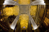 Interior of Cathedral of Seville, Andalusia, Spain — Stock Photo