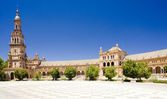 Spanish Square (Plaza de Espana), Seville, Andalusia, Spain — Stock Photo