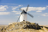 Windmill, Consuegra, Castile-La Mancha, Spain — Stock Photo