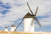 Windmills, Campo de Criptana, Castile-La Mancha, Spain — Stock Photo