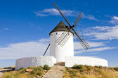 Windmill, Alcazar de San Juan, Castile-La Mancha, Spain — Stock Photo