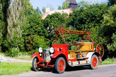 Pompe à incendie historique, république tchèque — Photo