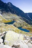 Five Spis Tarns, Vysoke Tatry (High Tatras), Slovakia — Stock Photo