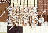 Chocolate still life — Stock Photo