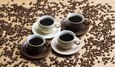 Coffee cups still life — Stock Photo