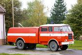 Fire engine, Kuzelov, Czech Republic — Stock Photo