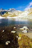 Zbojnicke Tarn, Vysoke Tatry (High Tatras), Slovakia — Stock Photo