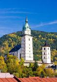 Kilise st. catherine, kremnice, slovakya — Stok fotoğraf