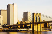 Brooklyn Bridge, Manhattan, New York City, USA — Stock Photo