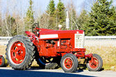 Tractor near Jonesboro, Maine, USA — Stock Photo